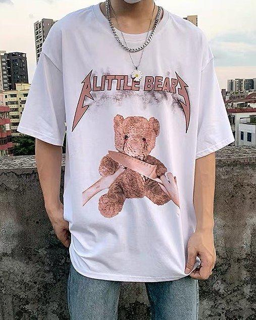 《2色》A LITTLE KILL BEAR クマTシャツの画像1